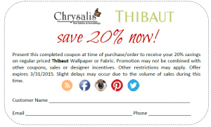 Thibaut CouponSave20Feb-March2015