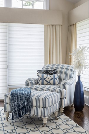 Blue-striped-chair.-Bedroom-with-Blue-striped-chair.-Bluestripedchair-Kim-E-Courtney-Interiors-Design-Inc.